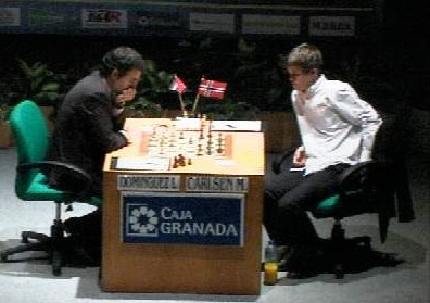 Dominguez - Carlsen