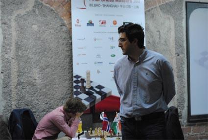 Carlsen et Kramnik